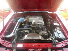Finally the completed intake project.