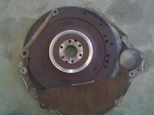 Old Flywheel and Seperator Plate Rub