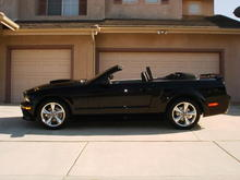 2008 GT/CS with LoveTheDrive windscreen attached