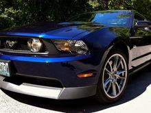 Kona Blue 2011 GT Brembo Package CDC Chin Spoiler