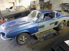 1968 Shelby GT350 barn find recovered after 30 years