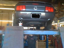 Installing magnapacks and 4 inch rolled tips