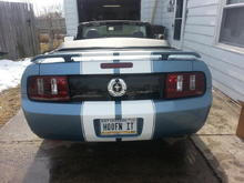 After tail light upgrade and panel installed
