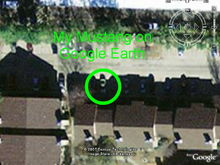 My Mustang on Google Earth