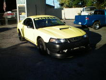 2001 MUSTANG GT WITH COBRA FRONT
