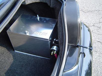 battery in trunk