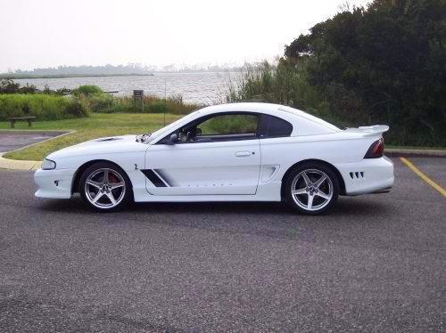 SVT Cobra w/Saleen s281 body kit & wheels.
