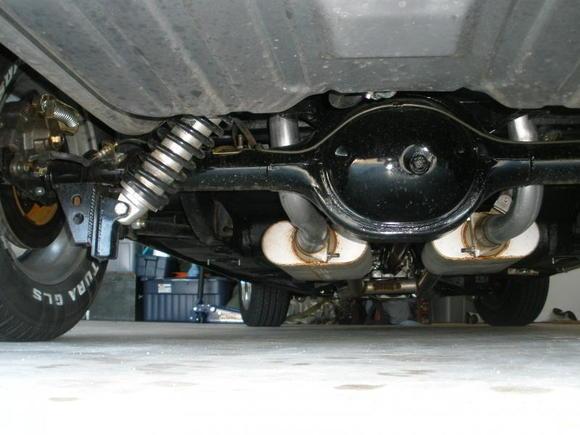 Rear coils