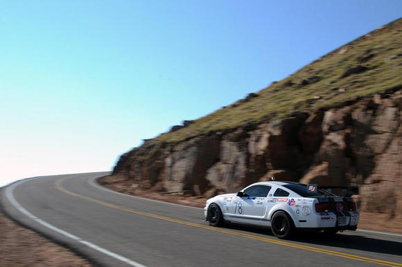 40 pikes peak 2012 mustangs