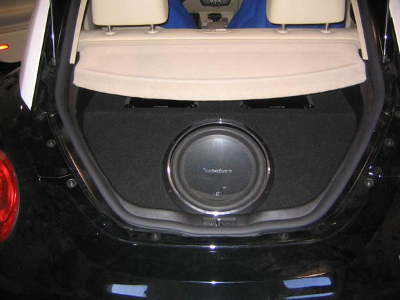 Geek Squad VW Beelte (Carpet This was first then we Vinyl It)