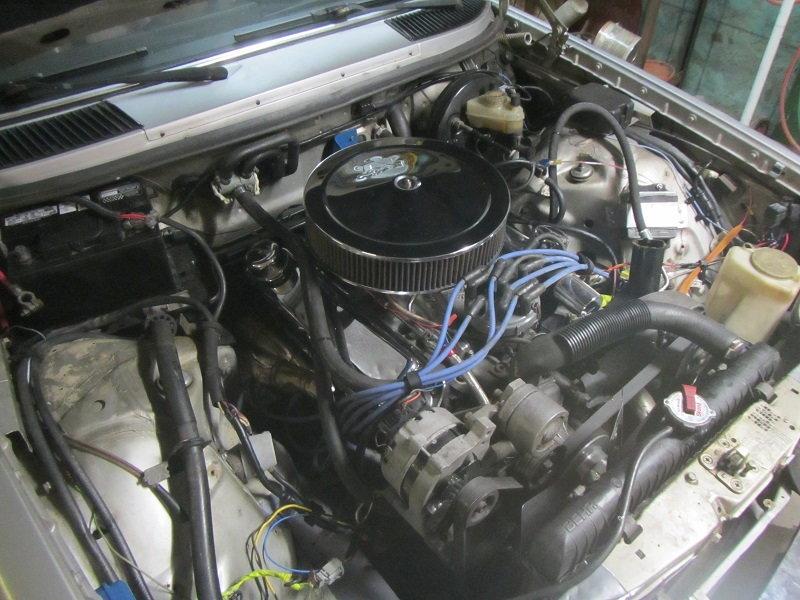 5 0 HO/T5 swap into W123 Mercedes 240D - MustangForums com