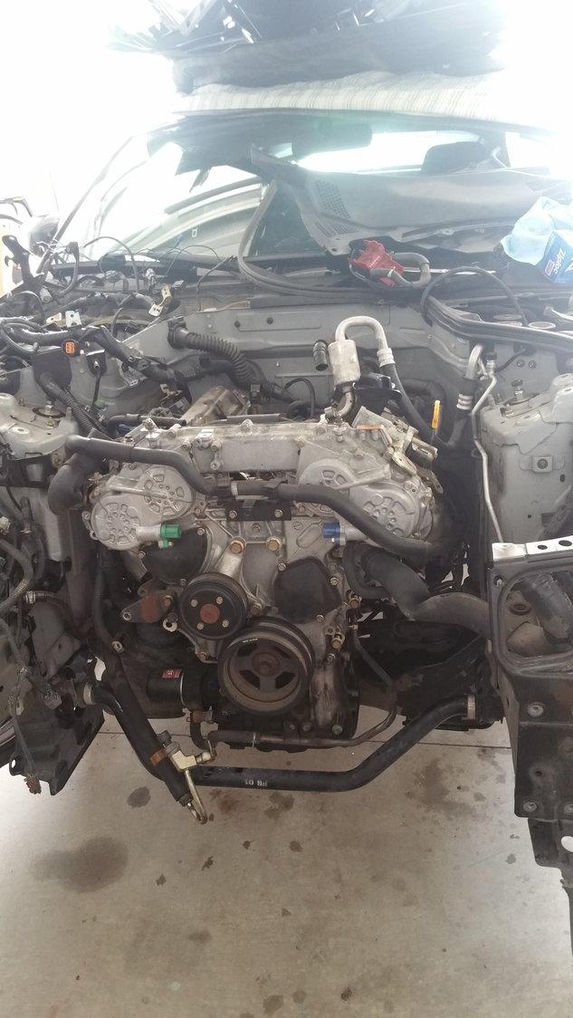 My 2jz swap - MY350Z COM - Nissan 350Z and 370Z Forum Discussion