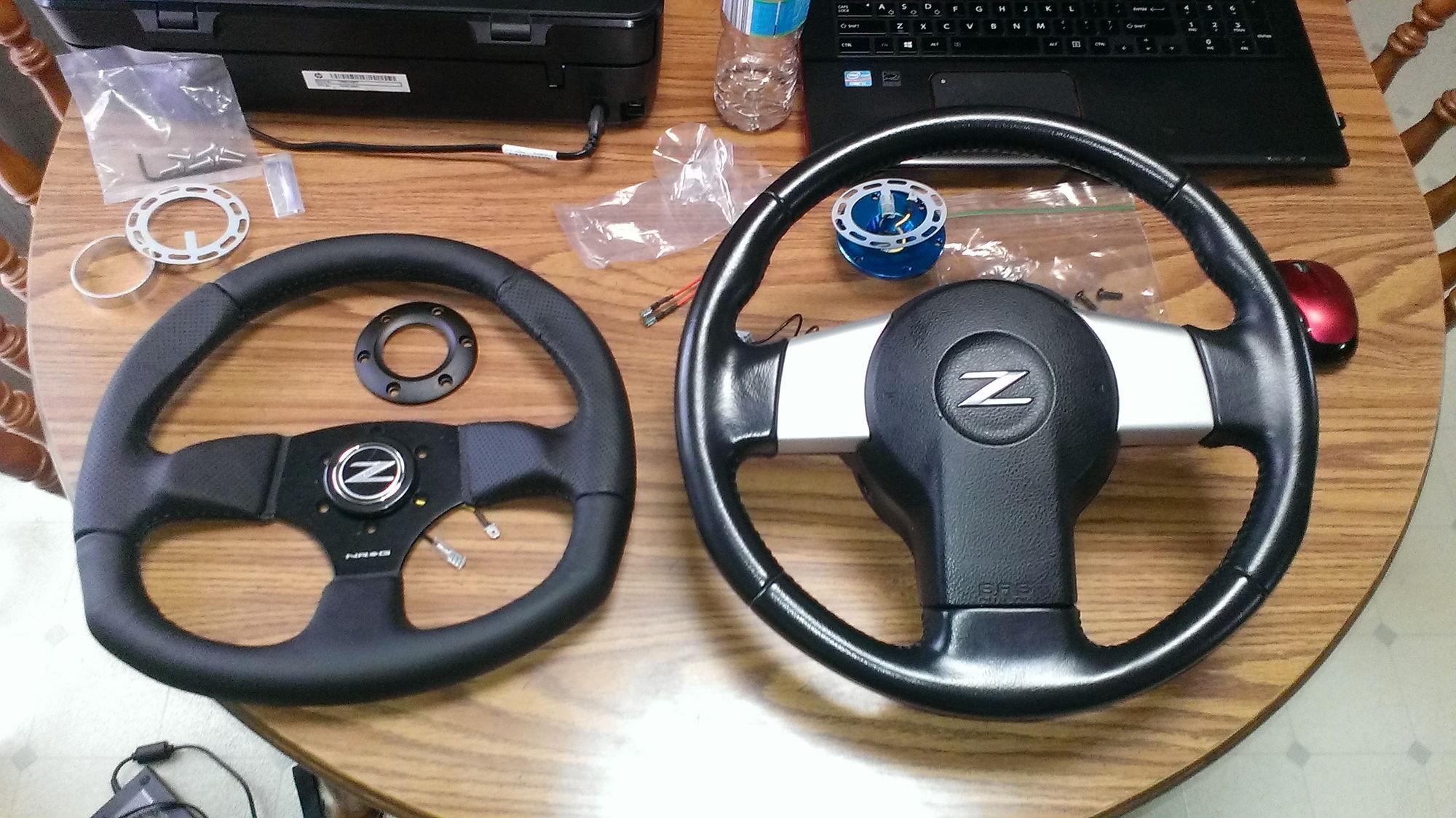 Nrg Steering Wheel My350z Com Nissan 350z And 370z