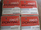 1965 Pontiac Sales Information Service Set