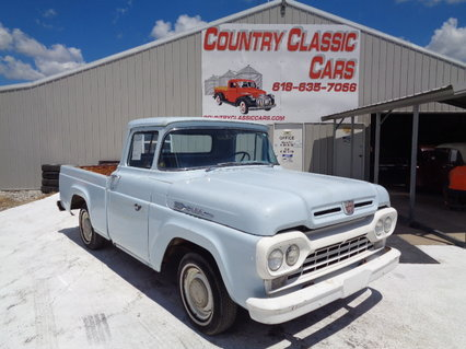 1960 Ford F100 Short bed