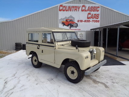 1967 Land Rover Series 2