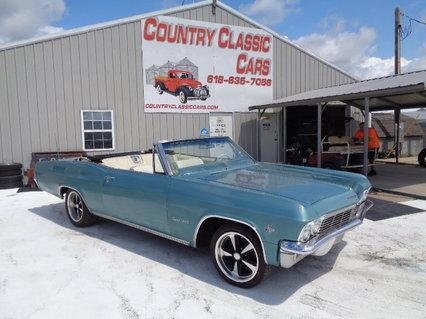 1965 Chevy Impala Super Sport Convertible