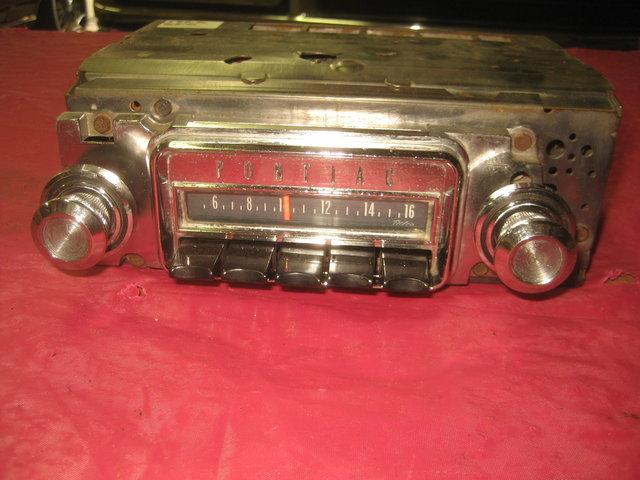 1966 Pontiac GTO, Lemans, Tempest AM radio