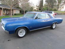 1964 oldsmobile f85 cutlass sports coupe 4 speed car 442 4