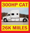 2000 FREIGHTLINER CREW CHIEF CAT 300HP TOTER HAULER  for sale $62,500