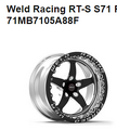"Weld Racing 17x10.5"" Double Beadlock RTS S71 Wheels"