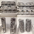 Brand New Brodix SR20 100% CNC Ported BBC Cylinder Heads  for sale $4,299