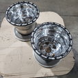 15 x 15 double beadlock Exstreme Fab wheels  for sale $2,000