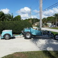 1923 Steel T Bucket w trailer