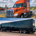 2013 Freightliner Cascadia / Featherlite Stacker Combo