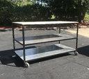 Custom Built 4'x8' Rolling Storage Cart  for sale $495