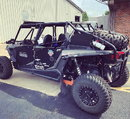 2014 Polaris Rzr XP4 1000 & 18' enclosed Atlas tra