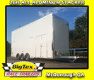 2019 Cargo Mate 8.5x26 ALL ALUMINUM Stacker w/ Full Floor Li