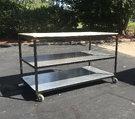 Custom Built 4'x8' Rolling Storage Cart