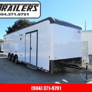 2021 Cargo Mate 32' Black Out Edition Car / Racing Trailer