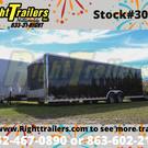 2021 8.5'x28' Continental Cargo Race Trailer