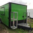 Electric Green 8.5x20TA3 Concession Trailer