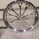 New WELD V series front dragster wheels