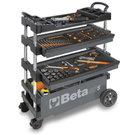 BETA TOOLS C27S-G FOLDING TOOL TROLLEY GRAY - 027000202
