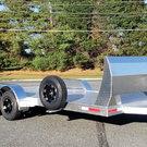 18 Foot Aluminum Car Trailer with Air Dam