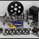 BBC CHEVY 540 ROTATING ASSEMBLY SCAT & WISECO +5cc DOME