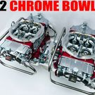 QFT Q-850-B2 850 CFM BLOWER SUPERCHARGER CARBS CHROME BOWLS