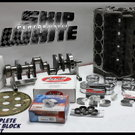 BBC CHEVY 572 MERLIN SHORT BLOCK FORGED PISTONS +12 DOME