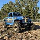 1956 jeep Willys with LS1 corvette motor