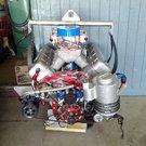 1200+ HP N/A 565 drag race engine