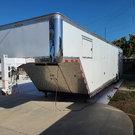 2015 38' Custom Built Aluminum Trailer