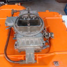 hemi 426 intake Nascar bathtub with carb