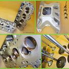 Evernham Motorsports Mopar P-7 NASCAR Cylinder Heads/Edelbro