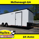 2019 8.5x28 Forest River Race Trailer w/6K Axles