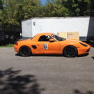 Boxster race/ DE car