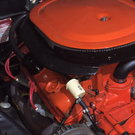 Mopar 340 TA  six pack Motor and 727 automatic transmission